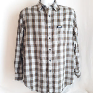 Chaps Ralph Lauren Long Sleeve Plaid Shirt Men's